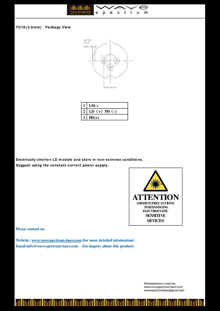 Ir Laser 808nm 300mw|レーザー・光学部品検索サイト Hikari Kakaku